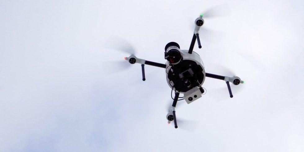 Drohnen sollen in Zukunft im Hafen Antwerpen für mehr Sicherheit und Übersicht sorgen. Foto: Hafen Antwerpen