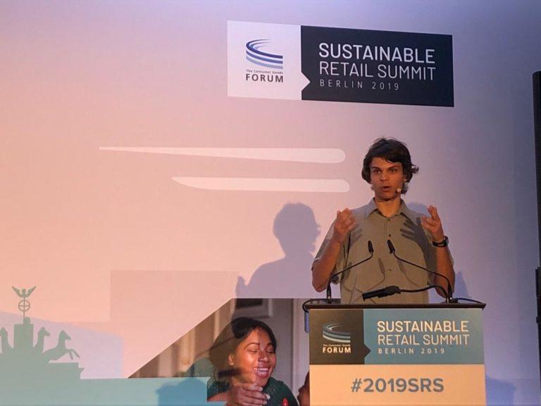 Sebastian Grieme studiert Physik an der Uni Potsdam. Der 20-Jährige Klimaaktivist ist Sprecher der Bewegung Fridays for Future. Der Foto: Privat