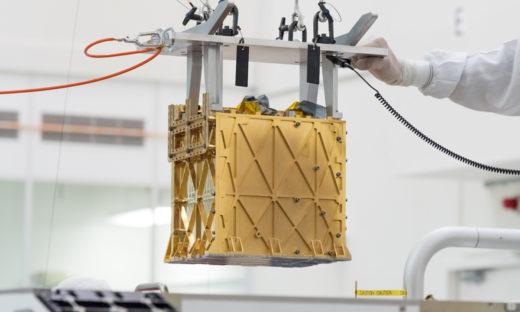 Moxie: Eine Art Mini-Sauerstofffabrik auf dem Mars. Foto: Nasa/JPL-Caltech