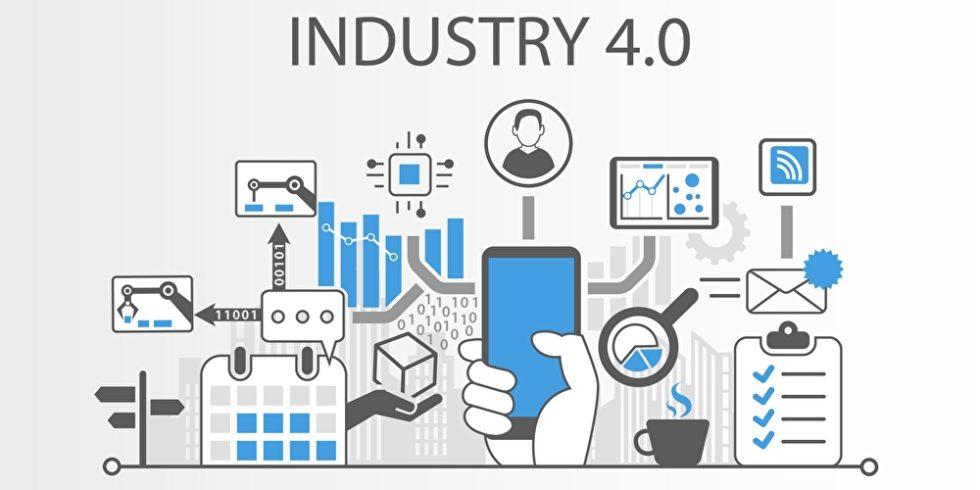 Komponenten der Industrie 4.0