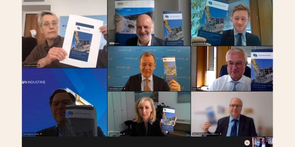Der neue Bericht der Initiative Kreislaufwirtschaft Bau wurde jetzt veröffentlicht. Foto: Kreislaufwirtschaft Bau