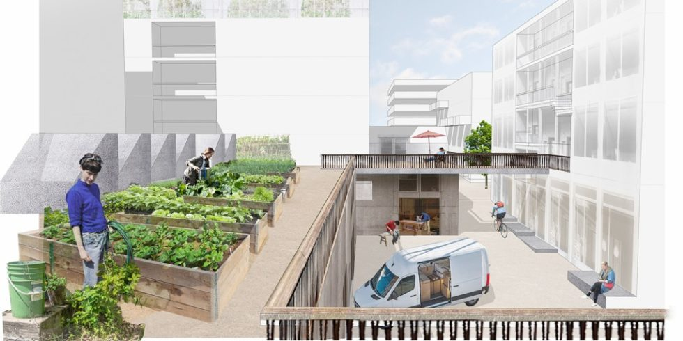 """JOTT architecture & urbanism GbR planen für das IBA'27-Projekt """"Produktives Stadtquartier Winnenden"""" eine innovative Nutzungsmischung. Foto: JOTT architecture & urbanism GbR"""