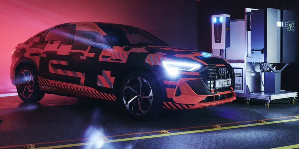 Audi setzt auf das Elektroauto. Foto: Audi