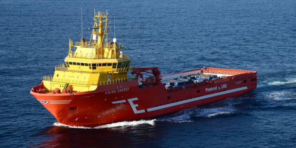 Die Viking Energy der Reederei Eidesvik ist das weltweit erste Schiff, das mit einer Brennstoffzelle auf Ammoniak-Basis ausgerüstet wird. Bild: Eidesvik