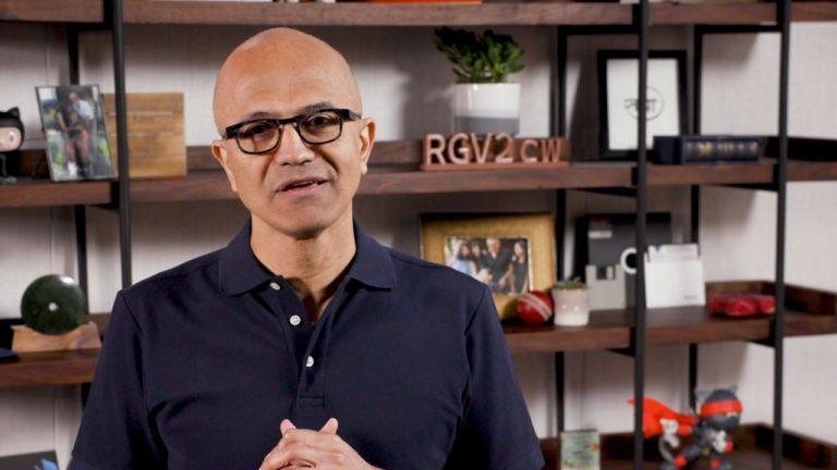 Microsoft-Chef Satya Nadella. Foto: Microsoft
