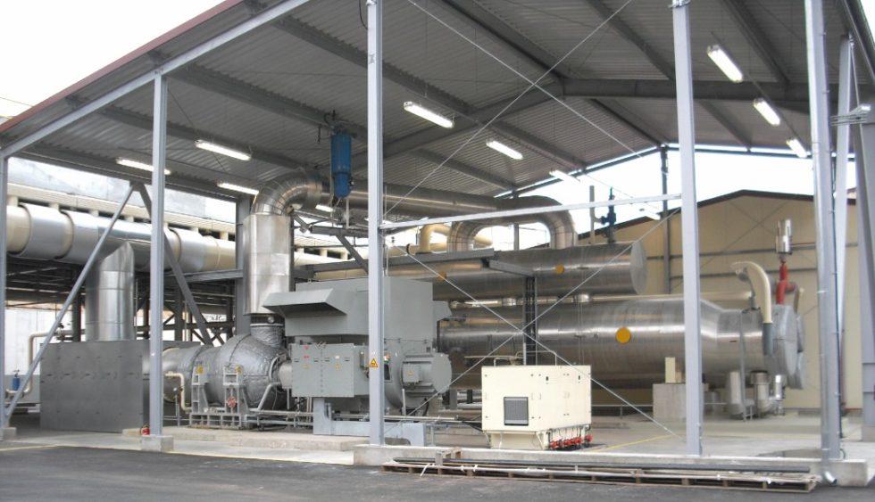 ORC-Geothermiekraftwerk in Insheim.