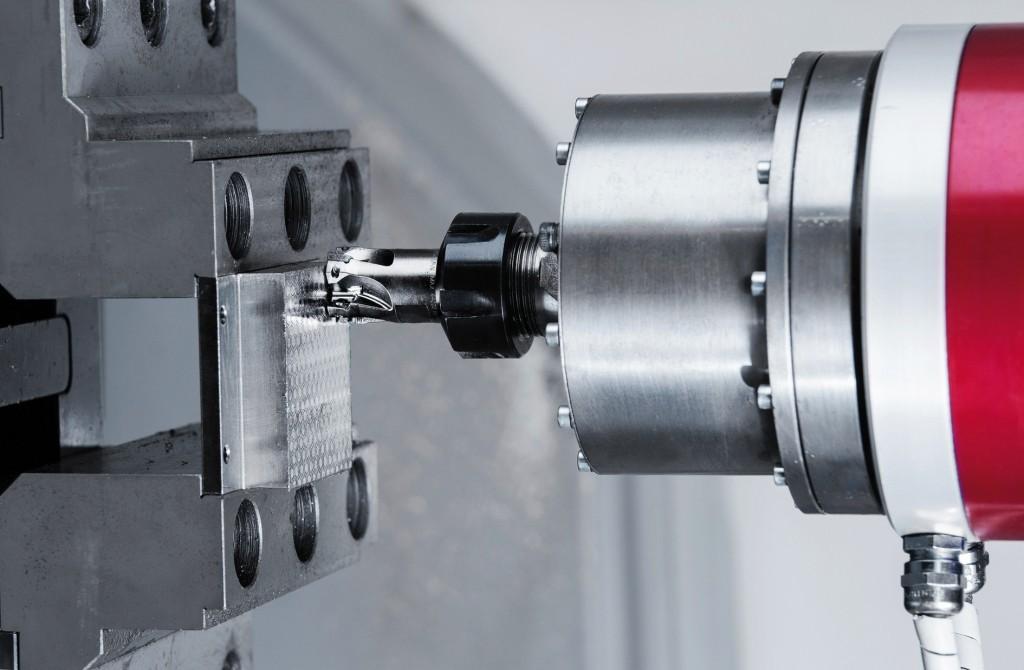 Piezoaktorisches Fräswerkzeug zur Oberflächenstrukturierung.