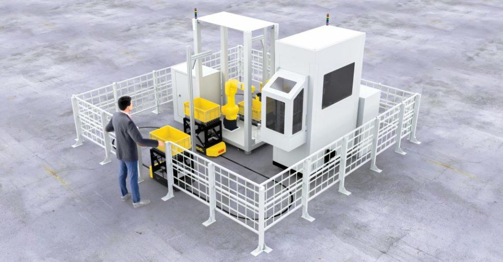 Gemeinsam mit dem Roboterspezialisten fpt zeigte SSI Schäfer auf der LogiMAT 2019 eine standardisierte Piece Picking-Applikation, die branchenübergreifend bei typischen Kommissionieraufgaben eingesetzt werden kann.