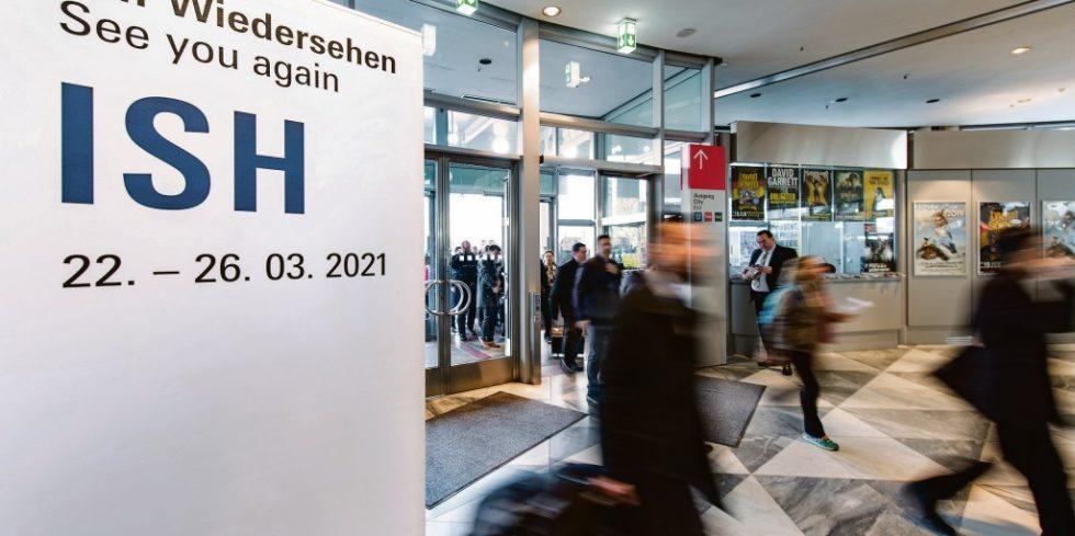 Wiedersehen nur virtuell: Aufgrund der Corona-Pandemie findet die ISH in diesem Jahr rein digital statt. Foto: Messe Frankfurt Exhibition GmbH/ Pietro Sutera