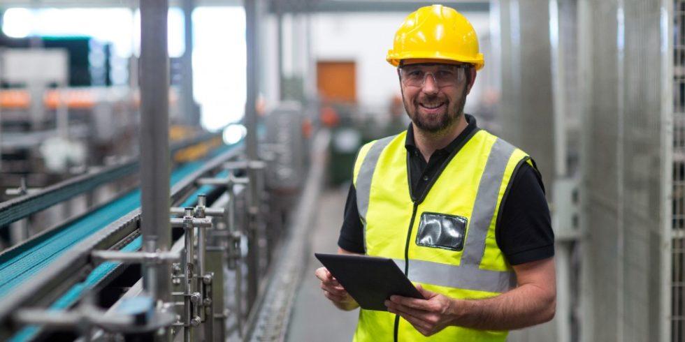 Arbeitsschutz steht immer mehr im Fokus - und wird in Zukunft stärker digital. Quelle: PantherMedia/Wavebreakmedia
