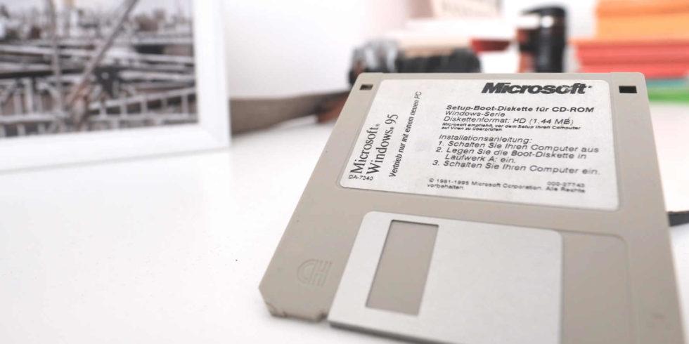 Im Betriebssystem Windows 95 von Microsoft wurde nach 26 Jahren ein erstaunliches Easteregg gefunden. Foto: Peter Sieben