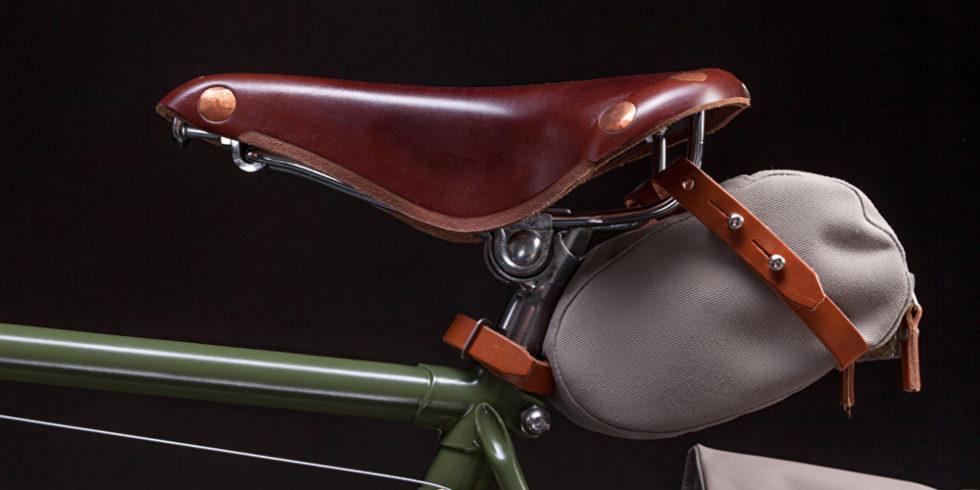Fahrradsattel mit Tasche