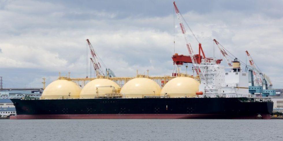Mit solchen Tankschiffen wird Flüssigerdgas (LNG) transportiert. Bild: PantherMedia / akiyoko74