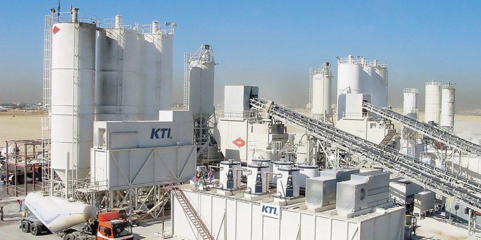 Betonkühlsysteme von KTI-Plersch Kältetechnik GmbH stellen gekühlten Beton her. Foto: KTI-Plersch Kältetechnik GmbH