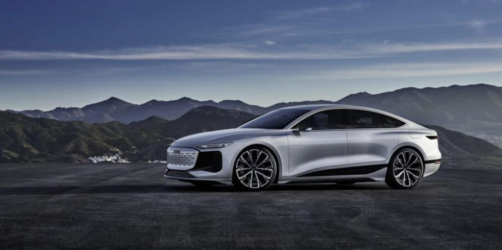 Der Audi A6 e-tron concept