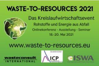 Waste-to-Resources, Rohstoffe und Energie aus Abfall