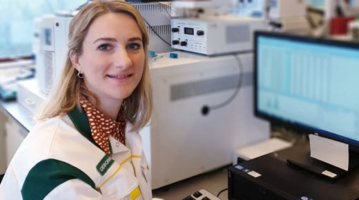 Deborah Gernat, Doktorandin im Bereich Biotechnologie an der TU Delft. Foto: TU Delft