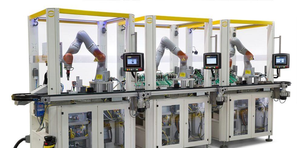 Die HAII4YOU Factory wird stetig weiterentwickelt. HARTING demonstriert damit, wie sich zukünftig Geschäftsprozesse verändern können. Foto: HARTING