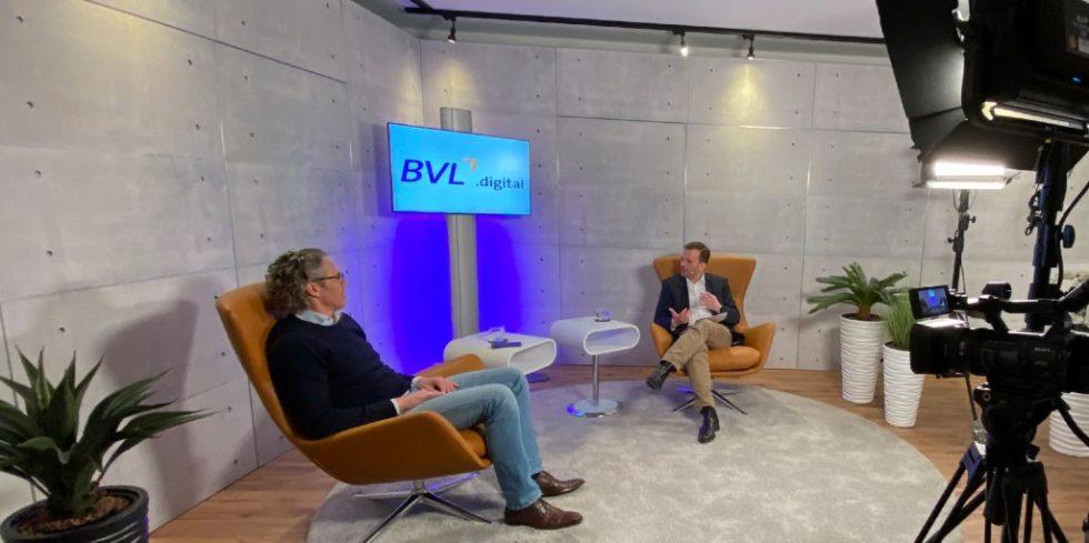 Mehr als 1200 Interessierte nahmen Ende März an den Digital Logistics Days der Bundesvereinigung Logistik teil. Foto: BVL