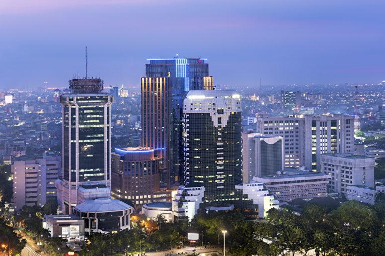 Hochhäuser von Jakarta