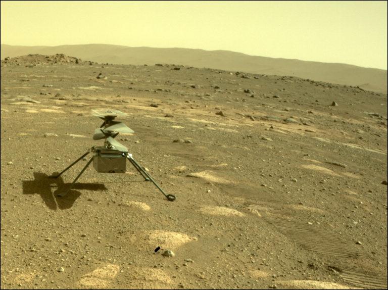 Mars-Helikopter Ingenuity. Foto: Nasa/JPL