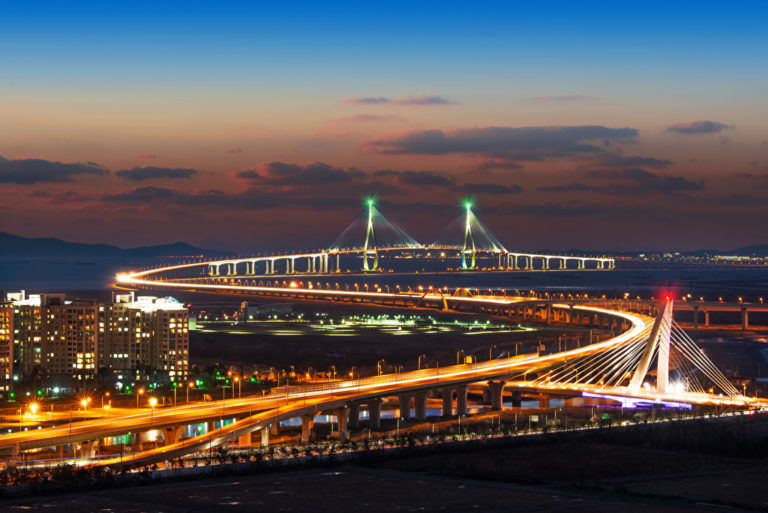 Seoul-Incheon Brücke