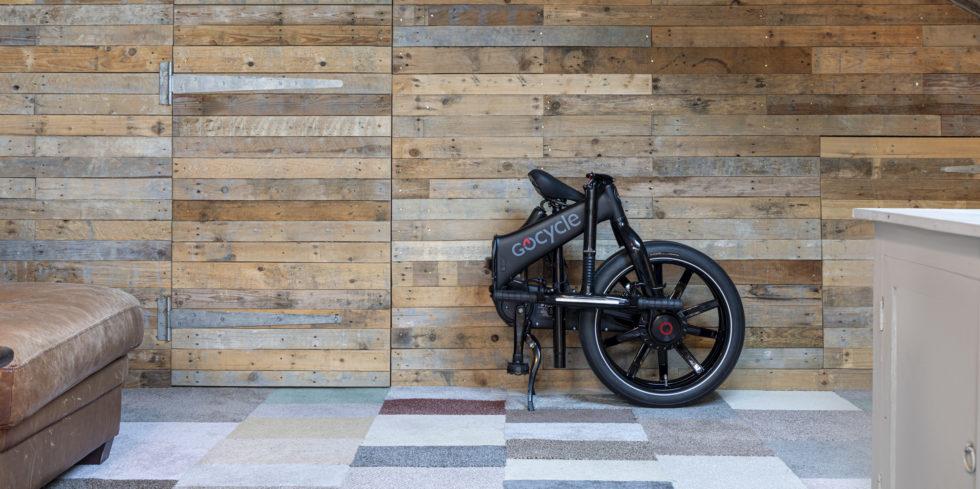 gefaltetes E-Bike Gocycle