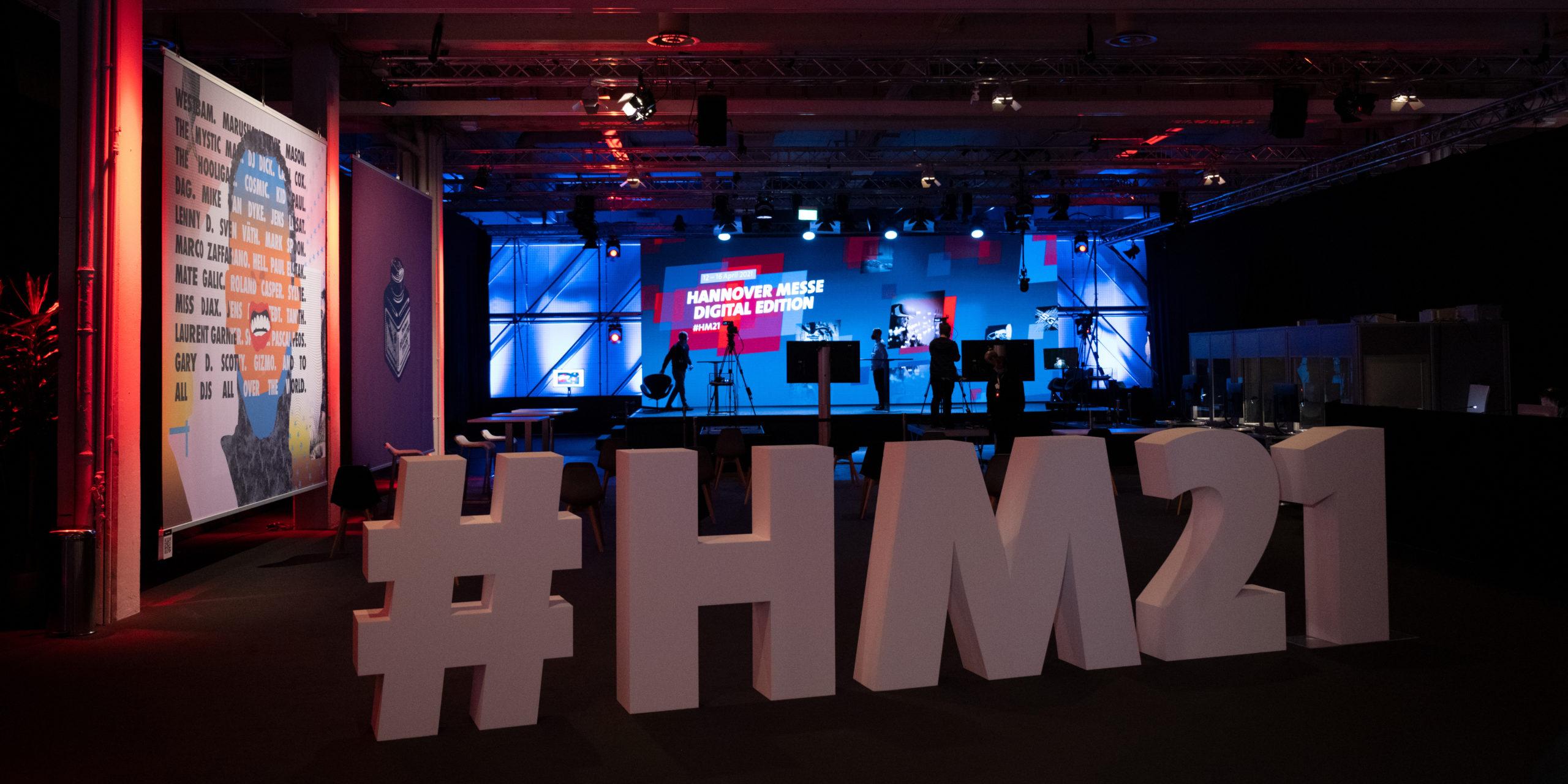 Hannover Messe 2021 Digital Edition: Am 12. April ist die diesjährige Hannover-Messe gestartet. Bild: Deutsche Messe