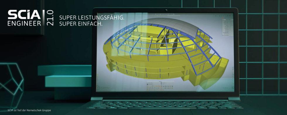 SCIA Engineer 21: Game Changer in der Tragwerksplanung und -analyse. Foto: Scia