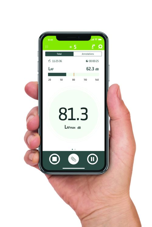 Anwender sehen über die mobile App die Messungen auf einen Blick. Foto: Hottinger Brüel & Kjaer GmbH
