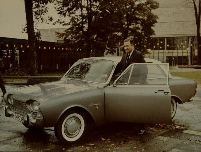 Der Ford Taunus: Ein Klassiker aus Köln. Foto: Ford