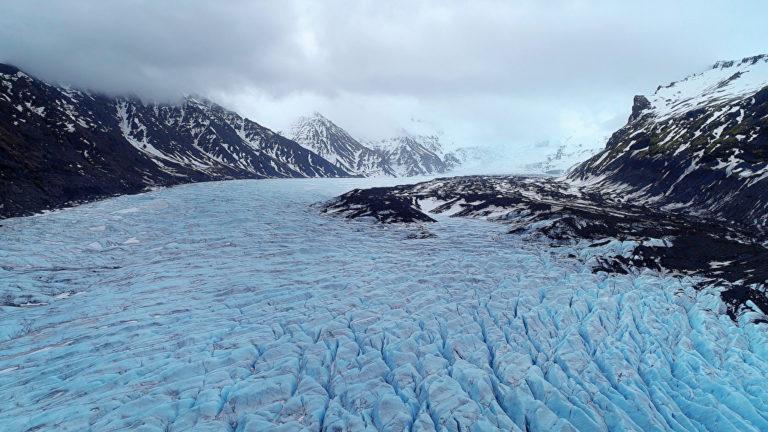 Foto: Der Vantajökull hat nicht nur einen für Nicht-Isländer besonders interessanten Namen, er ist auch der größte Gletscher Europas. Panthermedia.net/Yaymicro