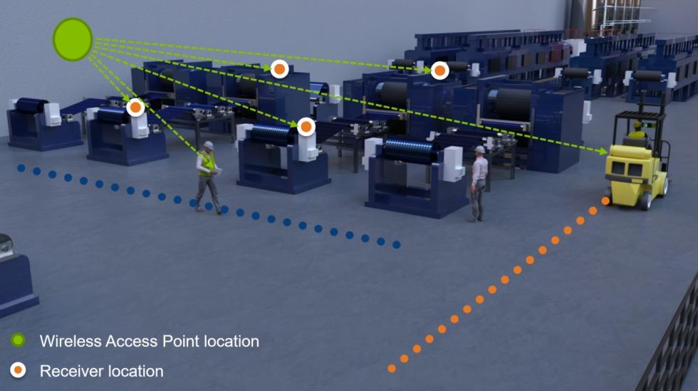 Vernetzung über 5G in der Fertigung. Foto: Dassault Systemes