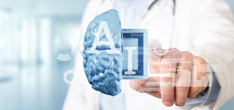 Einsatz von künstlicher Intelligenz in der Medizin.