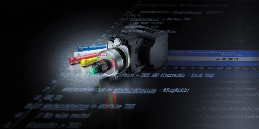 Sirius Act ID Schlüsselschalter mit Elektronikmodul IO-Link. Bild: Siemens AG