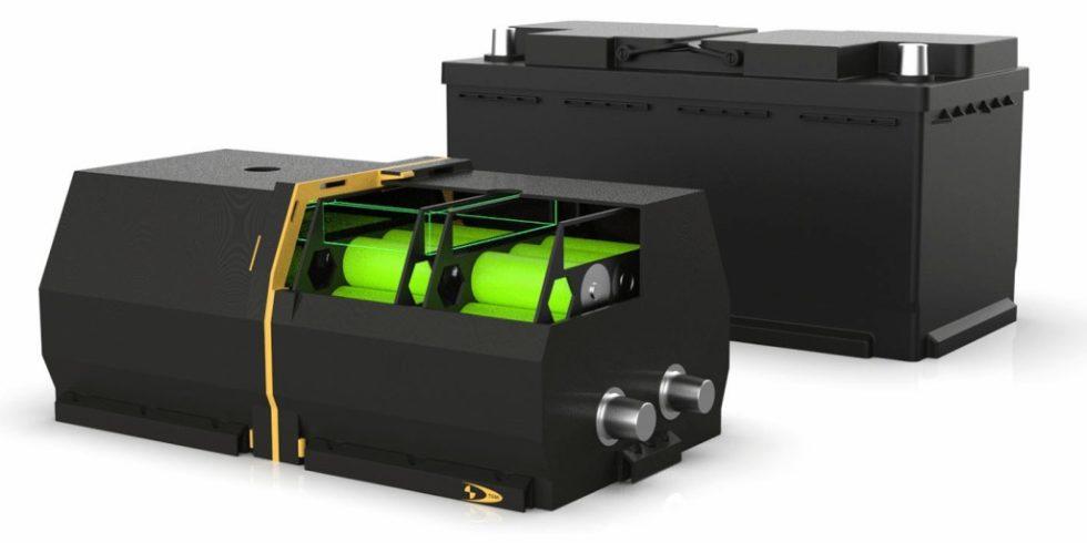 Ein modulares Starter-Batteriekonzept erschließt bei einem Elektrofahrzeug eine Gewichtsreduktion und sorgt gleichzeitig für einen Bauraumgewinn. Foto: TGM