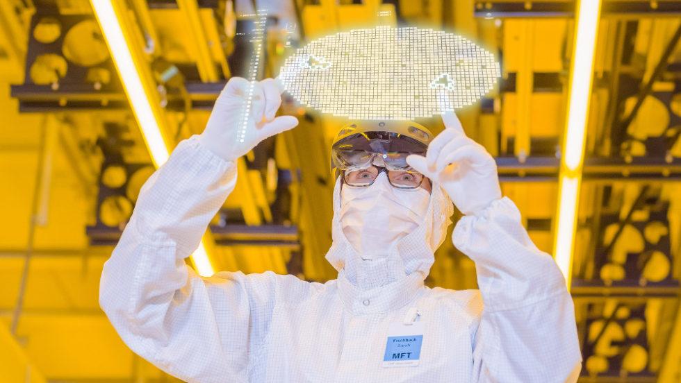 Wafer-Produktion bei Bosch