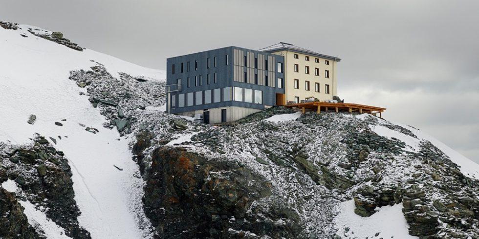 Die Hörnlihütte steht auf geologisch anspruchsvollen Felsformationen. Foto: Photographie Michel Bonvin.