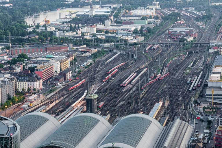 Der Bahnhof Frankfurt/Main. Foto: Philipus