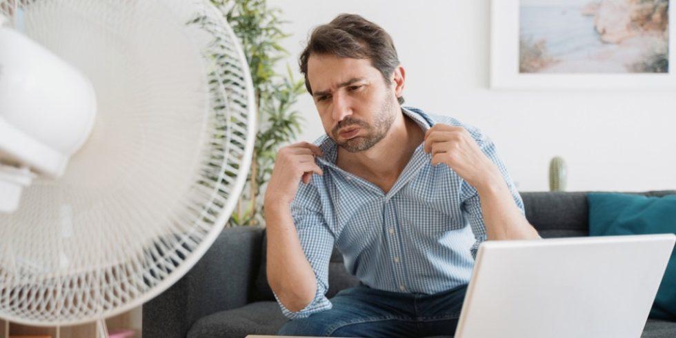 Bei sommerlichen Temperaturen leidet die Produktivität im Home-Office. Foto: panthermedia.net/ tommaso1979