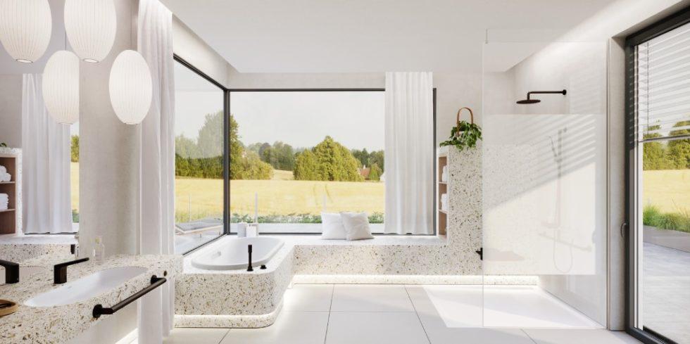 Imagewandel: Barrierfreie Badzimmer können heute nicht nur zweckmäßig, sondern auch ansprechend gestaltet werden. Foto: Kaldewei