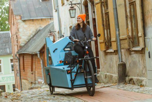 Ein Blickfang ist dieser Fahrrad-Wohnwagen auf jeden Fall. Foto: Zeltini