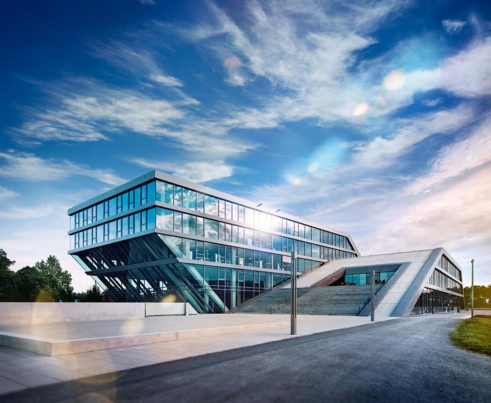HAHN+KOLB Firmenzentrale in Ludwigsburg – von hier aus erhalten unsere Kunden kompetente Fachberatung vom Werkzeug über die Auftragsbearbeitung bis zum Sonderbedarf. Foto: HAHN+KOLB Werkzeuge GmbH