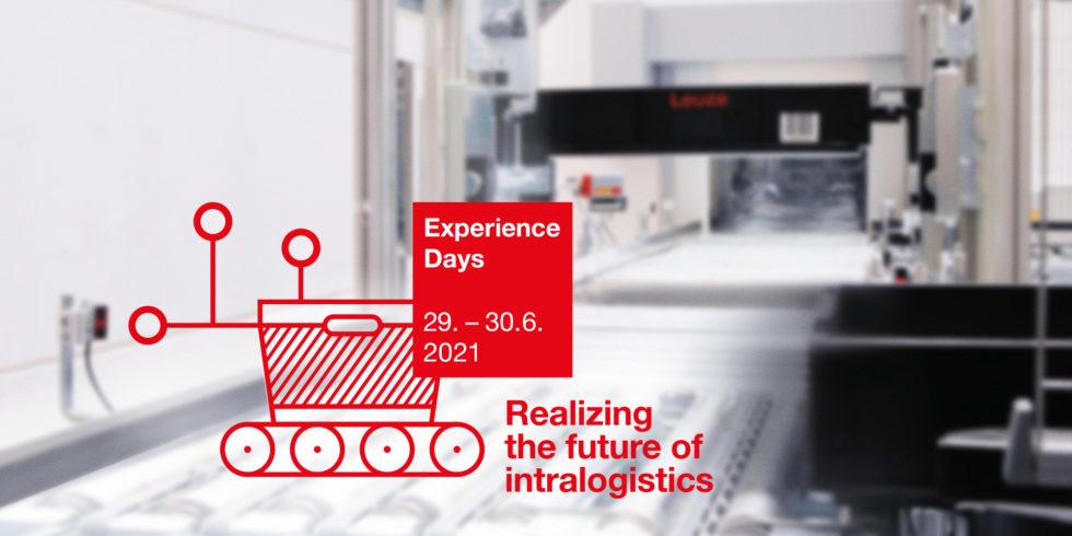 Das Motto der Leuze Experience Days am 29./30. Juni 2021: Realizing the future of intralogistics. Foto: Leuze