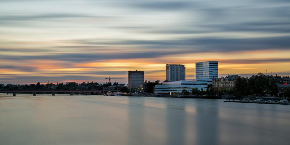 Im schwedischen Umea ist die Luftqualität besonders gut. Foto: Panthermedia.net/Emmoth