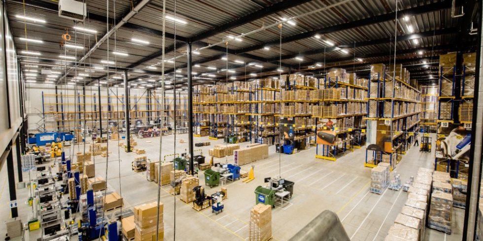 Das von Arvato Supply Chain Solutions realisierte automatisierte Distributionszentrum versorgt alle Vertriebskanäle von Harman EMEA. Foto: Arvato