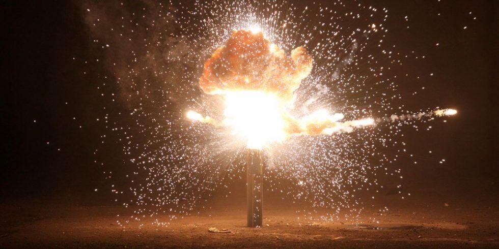 Explosion in einer alten Halle. Foto: PantherMedia/michalz86