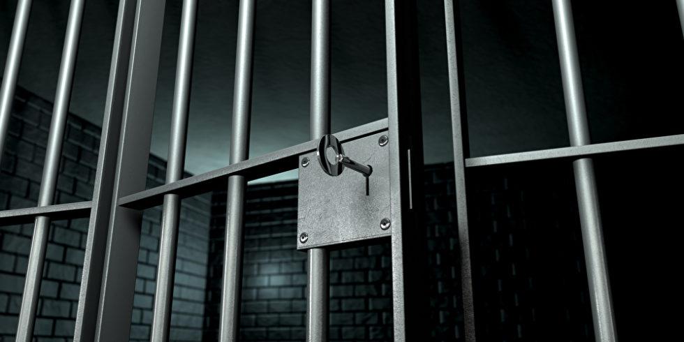 Gitter Gefängniszelle Schlüssel