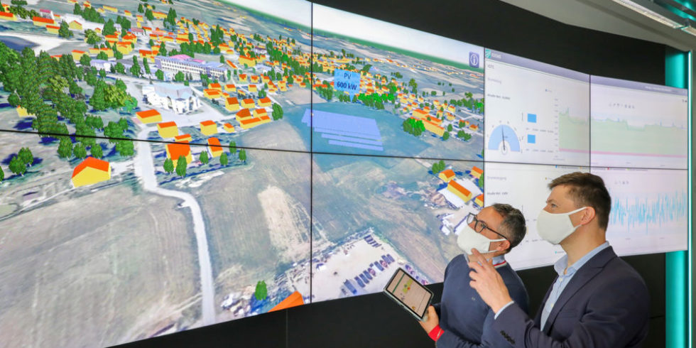Blick auf das Planungstool für Microgrids