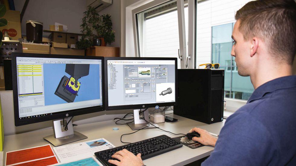 """""""Echte"""" Werkzeugdaten für CAM und Simulation – Das COSCOM ECO-System versorgt den gesamten CAD/CAM/Simulations-Prozess mit digitalen Werkzeugdaten und kann mit beliebigen CAM-Systemen gekoppelt werden. Foto: COSCOM"""